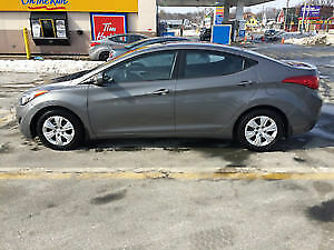 2013 Hyundai Elantra GL Warranty included with heated seats