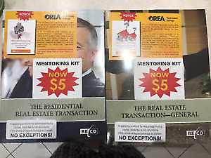 OREA course 3 books: General and residential