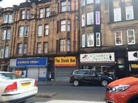 Traditional 1 Bedroom 1st floor Flat Causeyside st Paisley Avail Now