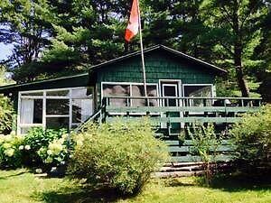 Lakefront cottage chalet au bord de l'eau