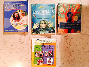 Up to date Early Childhood Education textbooks