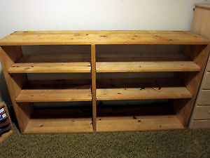WOULD YOU HAVE A LOW LONGER SHELF YU NO LONGER USE OR WANT