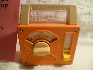 1978 Fisher Price Wind Up Music Box