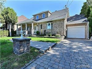 BEAUTIFUL DORVAL HOUSE FOR SALE ****15 MIN TO DOWNTOWN MONTREAL