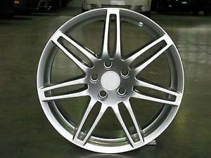 CLASSIC MAGS/JANTES AUDI VOLKSWAGEN MERCEDES SILVER 18'' 5x112 *
