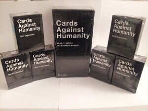 Cards Against Humanity  Base set + Exp 1-6