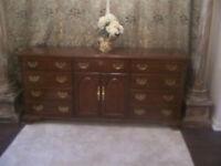 Kensington Sklar Peppler Mahogany Dresser for sale I DELIVER