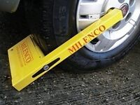 Milenco Compact Wheel Clamp Sold Secure Caravan BRAND NEW STOCK CLEARANCE