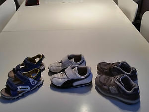 Assorted Baby Boy shoes. Measurement of soles 7 inches.