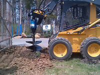 BOBCAT AND SKID STEER AUGERS - HEAVY DUTY