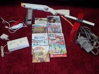 Nintendo Wii Red Super Mario Bros Wii Sports 25th Anniversary