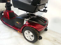 SCOOTER PRIDE VICTORY 10 3 WHEEL Red COLOR IN GOOD CONDITION. -