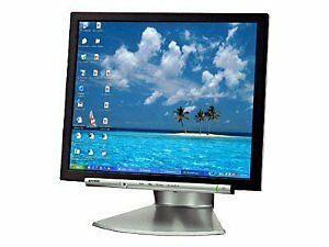 "Sharp LL-172A-B 17"" Monitor with Built-in Speakers"