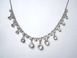 Rock crystal necklace ebay antique rock crystal necklaces aloadofball Images