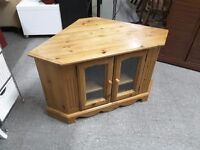 SALE NOW ON!! Solid Pine Corner TV Stand - Can Deliver For £19