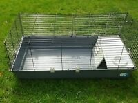 Large rabbit/Guinea pig cage can be used as a double