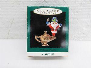 hallmark miniature christmas ornaments