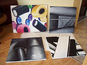 = == 4 CANVAS PAINTINGS = = = SEE EACH PRCIE ==   -