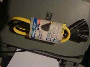 BRAND NEW Mastercraft Heavy Duty Extension Cord (NEVER USED)