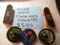 Star Wars Stuff - Various Prices.