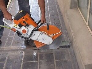 Small paving jobs concrete cutting Palmyra Melville Area Preview