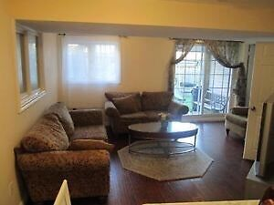 Short term 2 bed furnished apartment unit rental