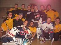 Gardien de but et joueurs de hockey cosom recherchés à Montréal