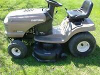 HYDROSTATIC... GOOD SEARS GARDEN TRACTOR 15 HP,,, 42 IN CUTTER ,