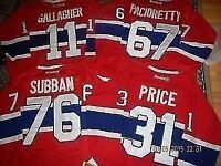 *** BRAND NEW -  MONTREAL CANADIENS - $70ea - from M up to XXXL