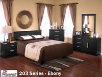 **NEW CANADIAN MADE BEDROOM SUITES AT INCREDIBLE PRICES!!**