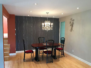 All inclusive fully furnished house for rent: Starting Sept