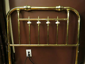 $199 · New brass plated head or foot board reg $499 Regina Regina Area image 1