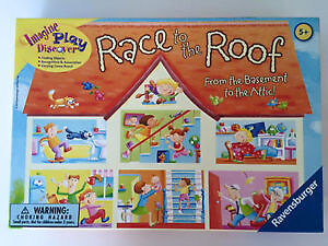 Race to the Roof - Ravensburger 5+ Instructions only in English