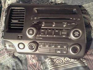 Honda Civic 2006 to 2011 CD / Radio Console