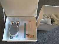 NuFACE Mini Silver Sparkle Facial Toning Device, on the glow kit, brand NEW, RRP £250