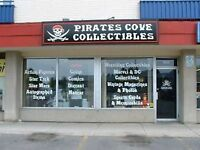 Pirates Cove Collectibles 5th Anniversary Sale
