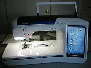 Brother Quattro 6750D embroidery sewing machine.