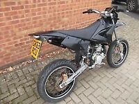 White Knuckle Supermoto CPI 50cc Moped