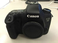 (Like new) Canon 6D with low shutter count