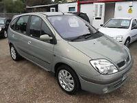 Silver Renault Scenic 1.4l Grande 2003 -LOW MILEAGE- 1 Year M.O.T