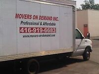 LAST MINUTE MOVING SPECIALISTS.We bring Fun to your situation