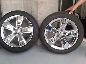 215-55-18 tire with Rims. Two of them
