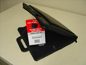 "New Toshiba PA1388U-1NCS 14"" 12"" 10"" Tablet Laptop Leather Case"