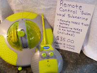 Remote Control Vehicles & Submarine - Various Prices