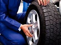 Mobile Tire Swapping Service for Tires Already on Rims $45