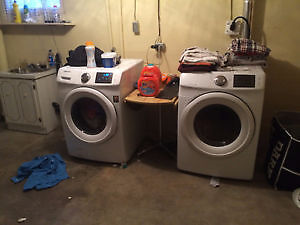 Samsung Front load Washer + Dryer