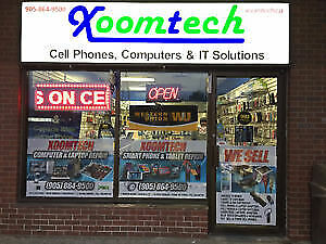 WE FIX CELL PHONES WHILE YOU WAIT AT XOOMTECH MILTON