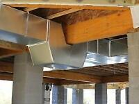 DUCTWORK INSTALL AND REPAIR - AFFORABLE