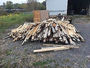 Wanted - Free used lumber