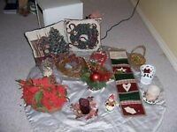 Various Christmas Decorations - New Price